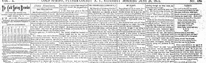 Historical New York Newspapers