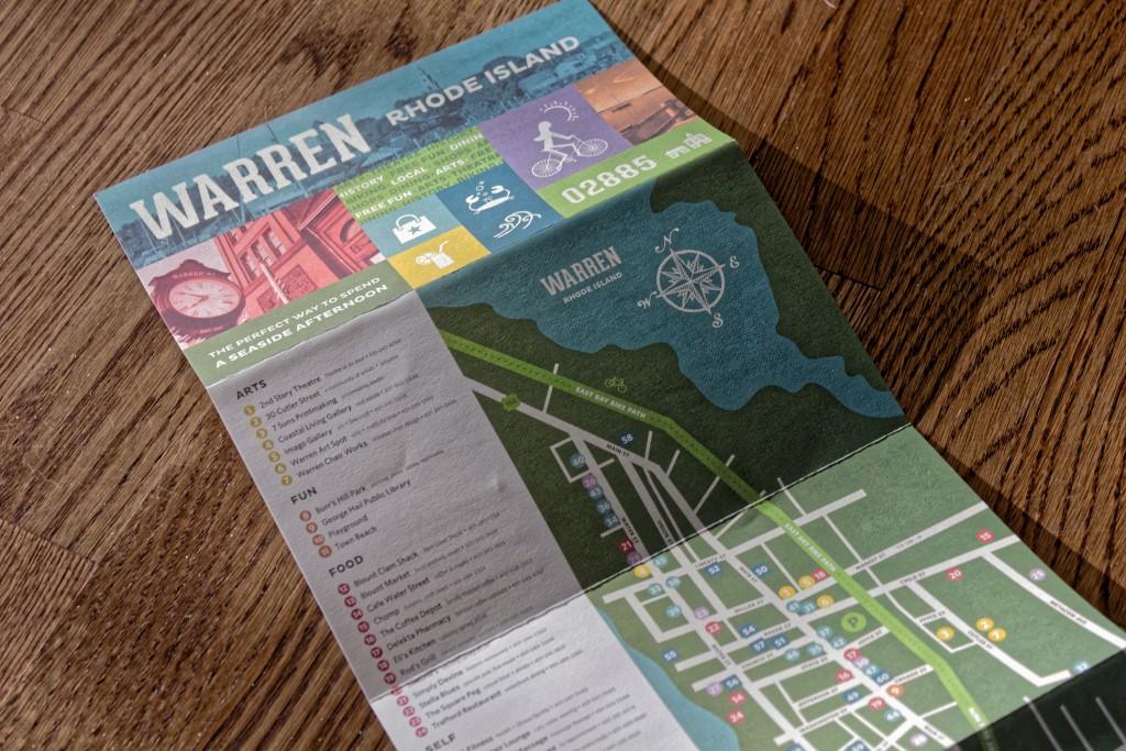 Warren Rhode Island Map